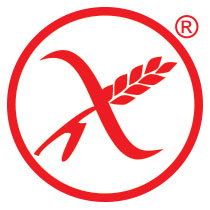 The product has the AIC Crossed Grain Symbol