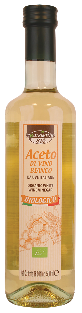ACETO DI VINO BIANCO -  da uve Italiane