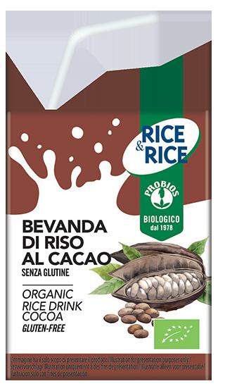 BEVANDA DI RISO CON CACAO  200ML