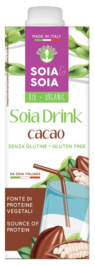 PFLANZLICHES SOJAGETRÄNK - mit Kakao