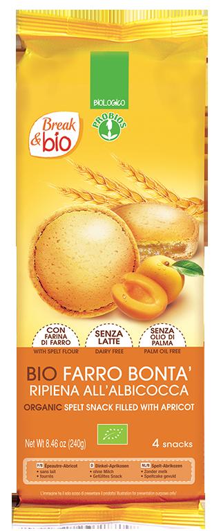 FARRO BONTA' - SPELT & APRICOT CAKE