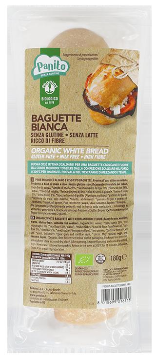 BAGUETTE BIANCA senza glutine