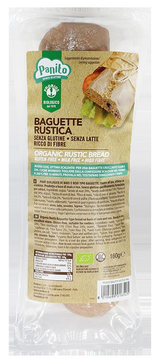 BAGUETTE RUSTICA - senza glutine