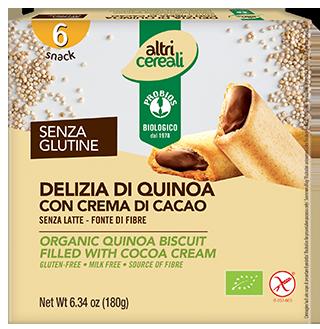 DELIZIA DI QUINOA - con crema al cacao