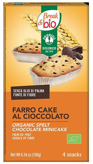 FARRO CAKE AL CIOCCOLATO