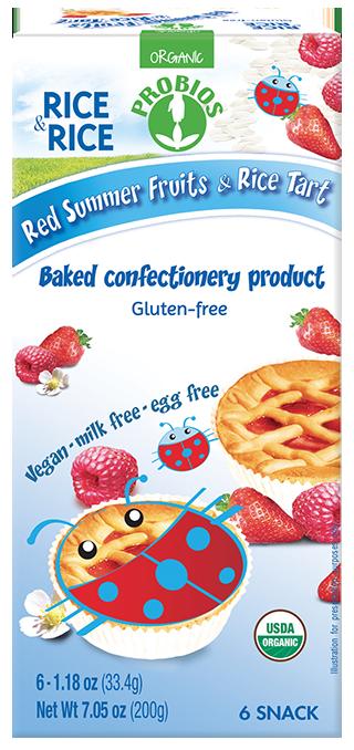 RED SUMMER FRUIT & RICE TART (USA)