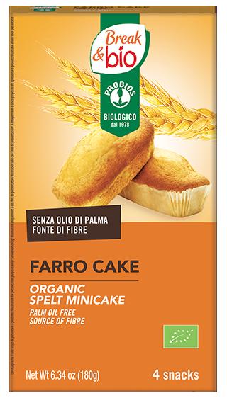 FARRO CAKE NATURALE