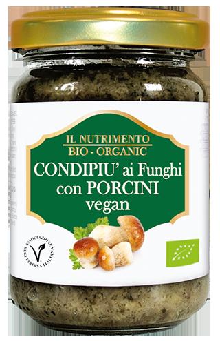 CONDIPIU' AI FUNGHI CON PORCINI