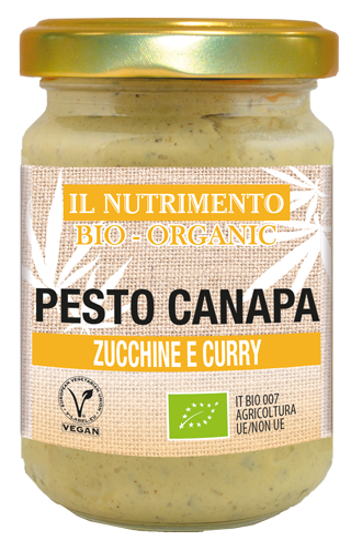 PESTO CANAPA ZUCCHINE E CURRY