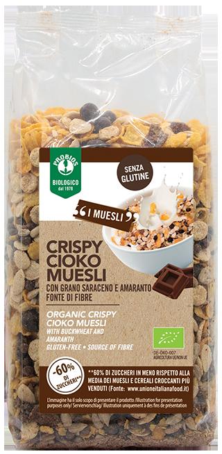CRISPY CIOKO MUESLI - senza glutine