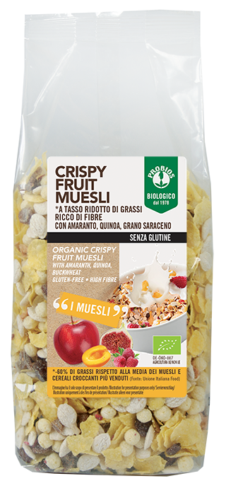CRISPY FRUIT MUESLI