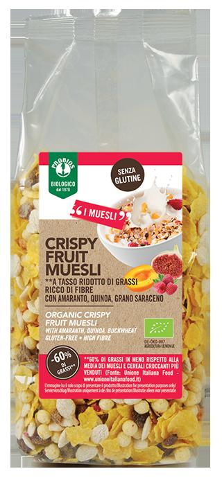 CRISPY FRUIT MUESLI