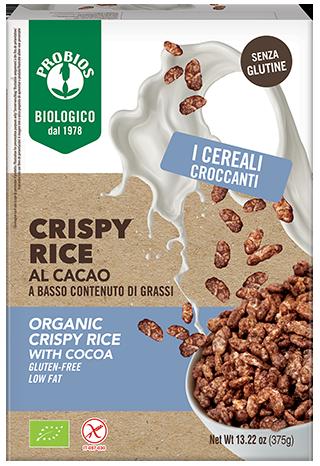 CRISPY RICE AL CACAO - senza glutine