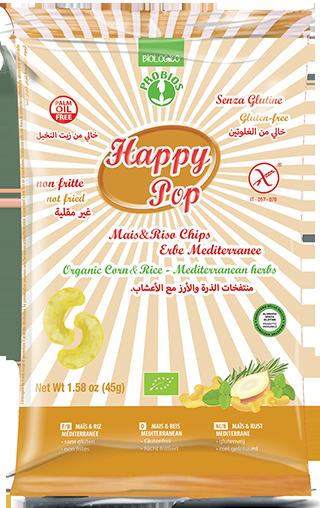 HAPPY POP ERBE MEDITERRANEE - senza glutine