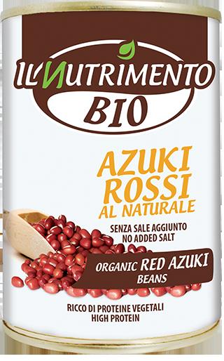 AZUKI ROSSI AL NATURALE