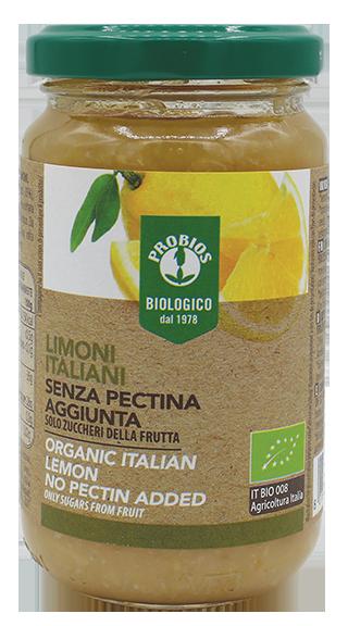 COMPOSTA DI LIMONI ITALIANI - senza pectina aggiunta