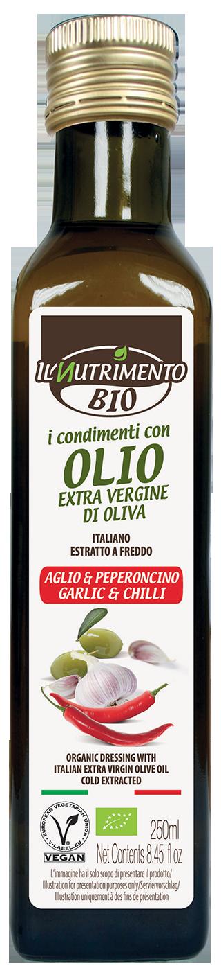 CONDIMENTO CON OLIO EVO AROMA AGLIO & PEPERONCINO