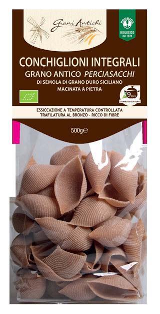 CONCHIGLIONI INTEGRALI - GRANO DURO PERCIASACCHI