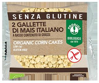 GALLETTE DI MAIS CON SALE SENZA GLUTINE- confezione duopack