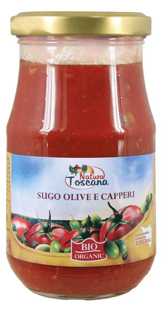 SUGO OLIVE E CAPPERI 340g